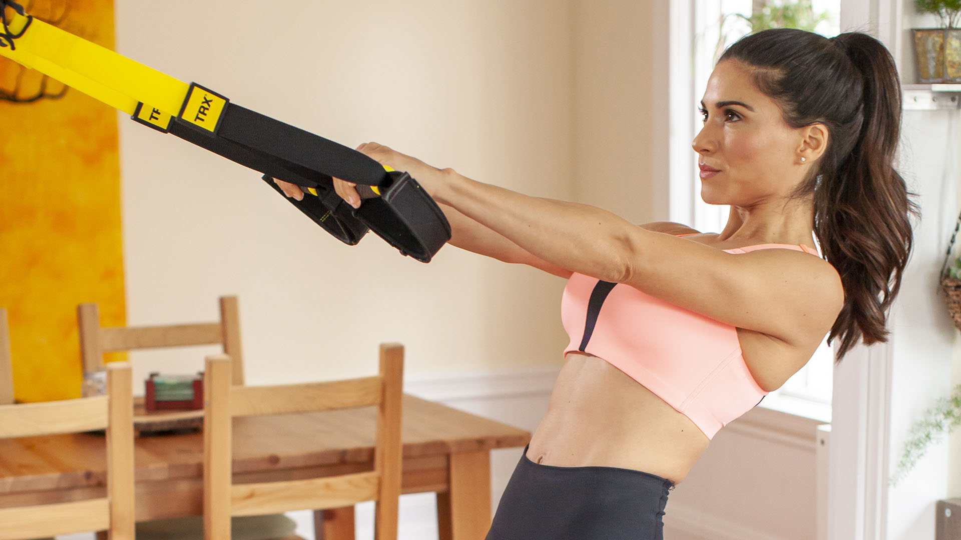 TRX<BR>PANDEMIC AT-HOME FITNESS SOLUTIONS